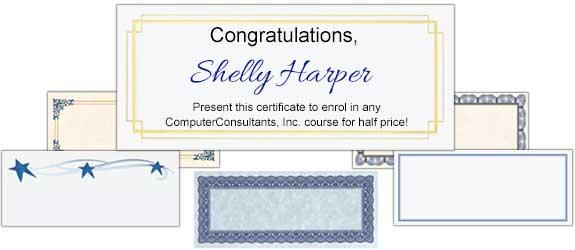 Certificate Paper & Award Certificates | PaperDirect's