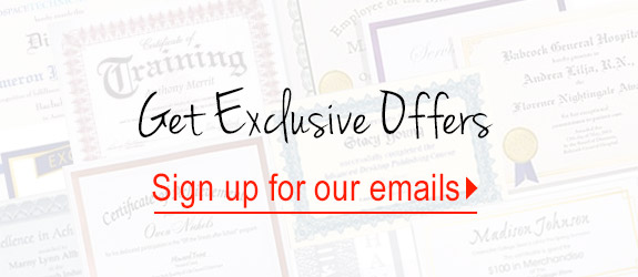 Get Exclusive Offers - sign up for our emails