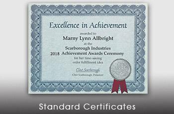 certificate paper award certificates paperdirect s