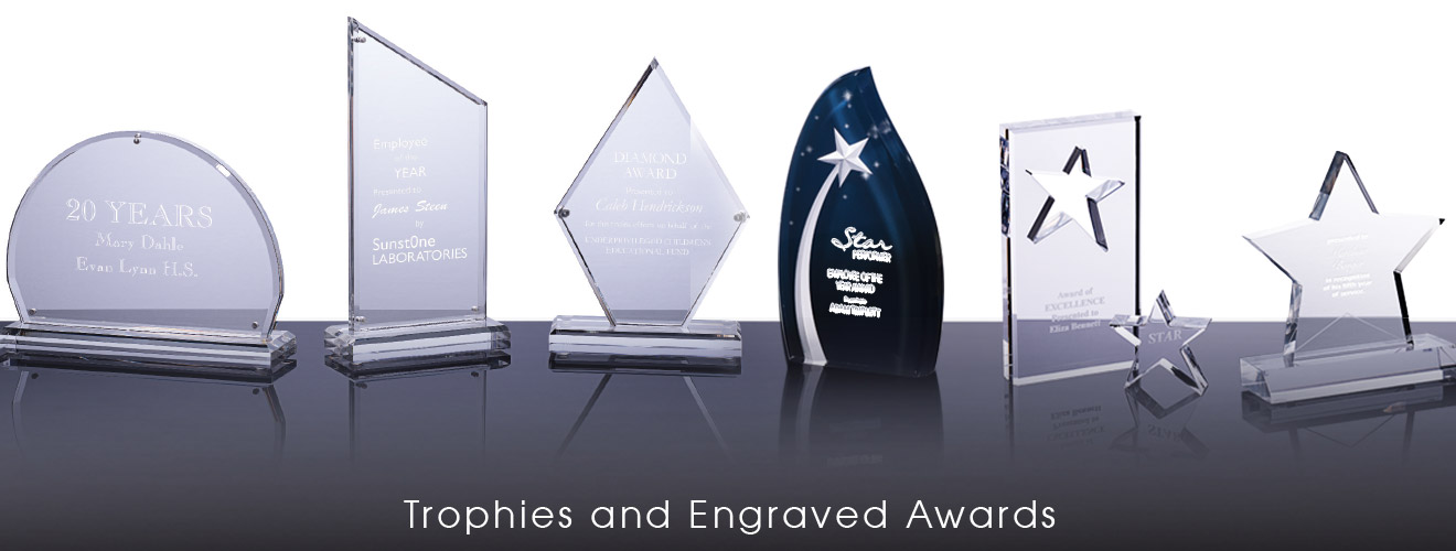 Trophies and Engraved Awards