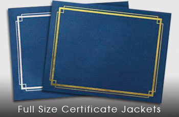 Full Size Certificate Jackets