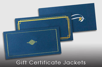 Gift Certificate Jackets