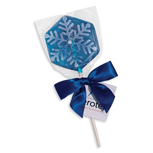 Snowflake Holiday Lollipop