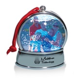 Magnetic Snow Globe Ornament