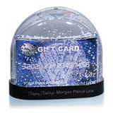 Snow Globe with Gift Card Insert