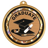 Holographic Graduation Medallion