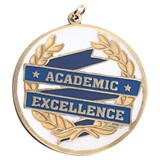 Academic Excellence Blue Medallion