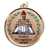 Student Recognition Award Medallion