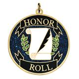 Honor Roll Glitter Medallion