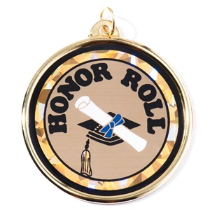 Honor Roll Holographic Medallion