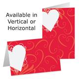Heart Shaped Wishes Photo Greeting Cards