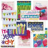 Birthday Card Assortment XIII