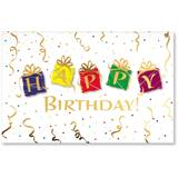 Presents IV Birthday Deluxe Greeting Cards