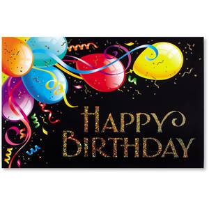 Birthday Dazzle Deluxe Greeting Cards