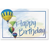 Balloons Birthday Deluxe Greeting Card Set