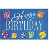 Presents V Birthday Deluxe Greeting Card Set