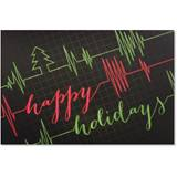 Holiday Vitals Deluxe Greeting Card