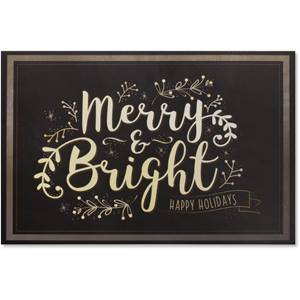 Merry and Bright Holiday Greeting Cards