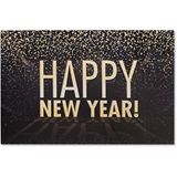 Big Happy New Year Deluxe Greeting Card