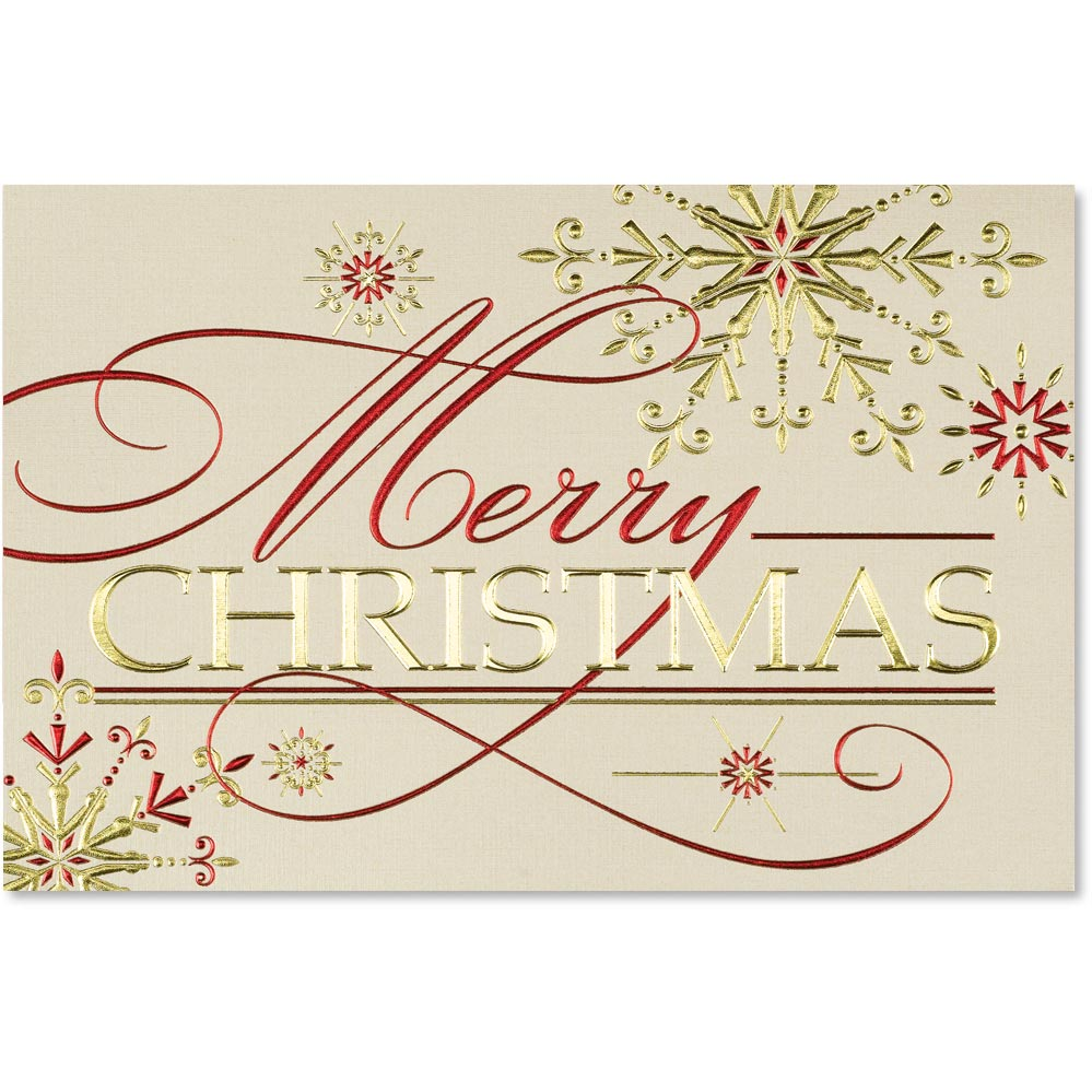Merry christmas deluxe holiday greeting cards paperdirects merry christmas deluxe holiday greeting cards m4hsunfo