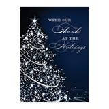 Starry Tree Deluxe Holiday Greeting Cards