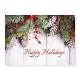 Holiday Swag Deluxe Holiday Greeting Cards
