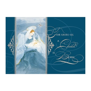 Peaceful Angel Classic Holiday Greeting Cards