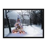 Lighted Arbor Deluxe Holiday Greeting Cards