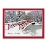 Sparkle Bridge Deluxe Holiday Greeting Cards