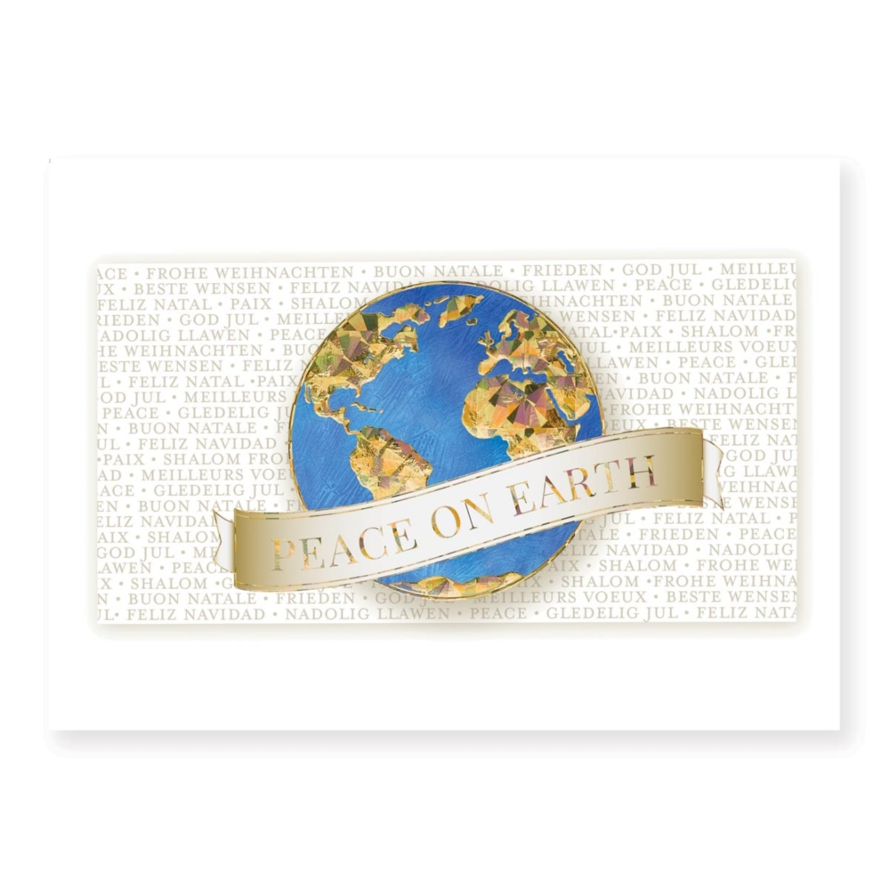 Words of peace classic holiday greeting cards paperdirects words of peace classic holiday greeting cards m4hsunfo