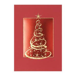 O'Christmas Tree Deluxe Holiday Greeting Cards