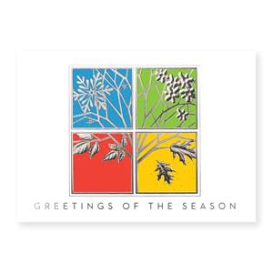 Four Seasons Classic Holiday Greeting Cards
