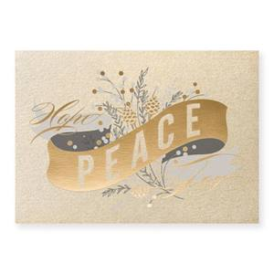Ribbon of Peace Deluxe Holiday Greeting Cards