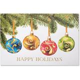 Ornament Wrap Deluxe Greeting Card