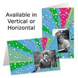 Confetti Party Photo Greeting Cards
