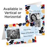 Festive Graduation Photo Greeting Cards