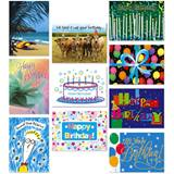Birthday Card Assortment III