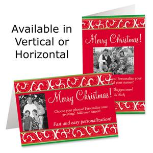 Brilliant Wish Holiday Photo Greeting Cards