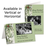 Crystal Brilliance Holiday Photo Greeting Cards