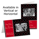 Roundabout Holiday Photo Greeting Cards