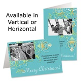 Trellis Holiday Photo Greeting Cards