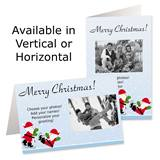 Ice Skating Party Holiday Photo Greeting Cards