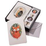 Woodland Creatures Foil NoteCards Set