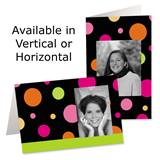 Sassy Dots Photo Greeting Cards
