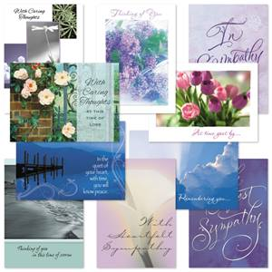 Sympathy Card Assortment II