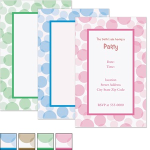 Serendipity Casual Invitations