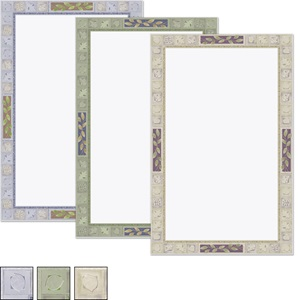 Earthtone Tiles Casual Invitations