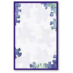 Puzzled Casual Invitations