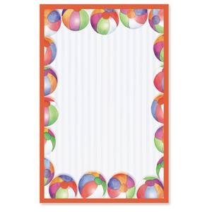 Beach Balls Casual Invitations