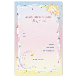 Heaven Sent Casual Invitations